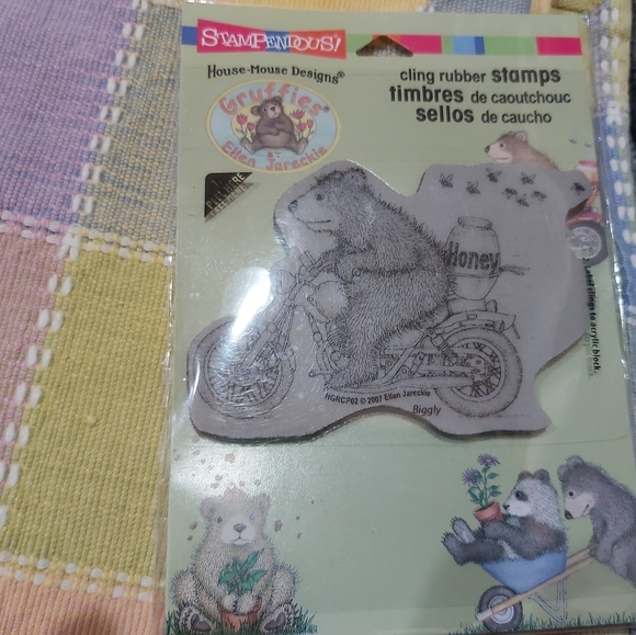 STAMPENDOUS CLING RUBBER STAMP